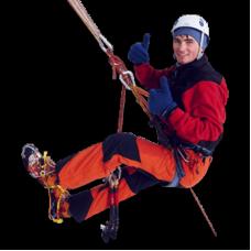 Услуги промышленного альпинизма: очистка крыш от снега, сосулек и наледи, уборка крыш, мойка фасадов, спил деревьев в Ярославле
